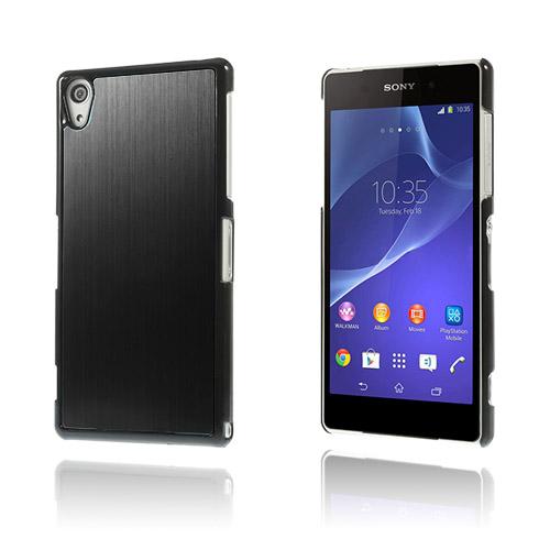 Alu Plate (Svart) Sony Xperia Z2 Skal