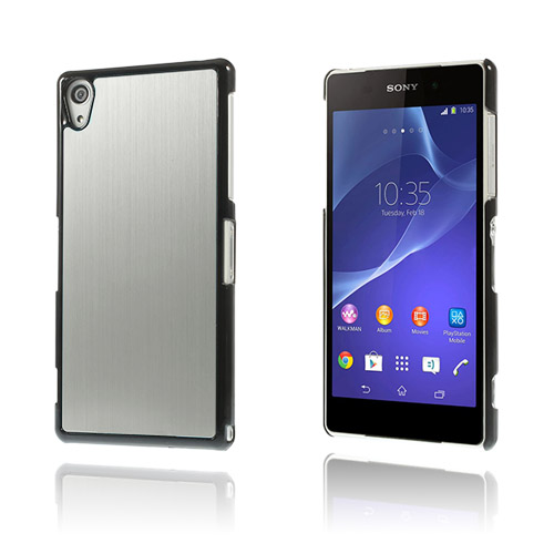 Alu Plate (Silver) Sony Xperia Z2 Skal