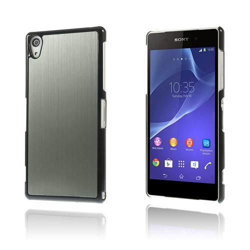 Alu Plate (Grå) Sony Xperia Z2 Skal