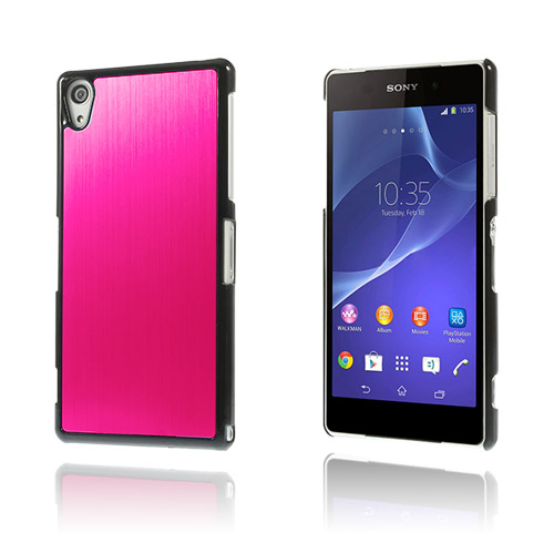 Alu Plate (Rosa) Sony Xperia Z2 Skal