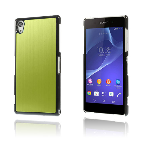 Alu Plate (Grön) Sony Xperia Z2 Skal