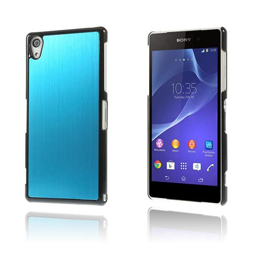 Alu Plate (Ljusblå) Sony Xperia Z2 Skal