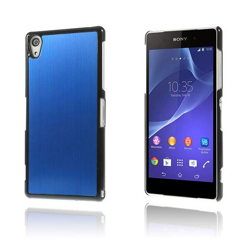Alu Plate (Blå) Sony Xperia Z2 Skal