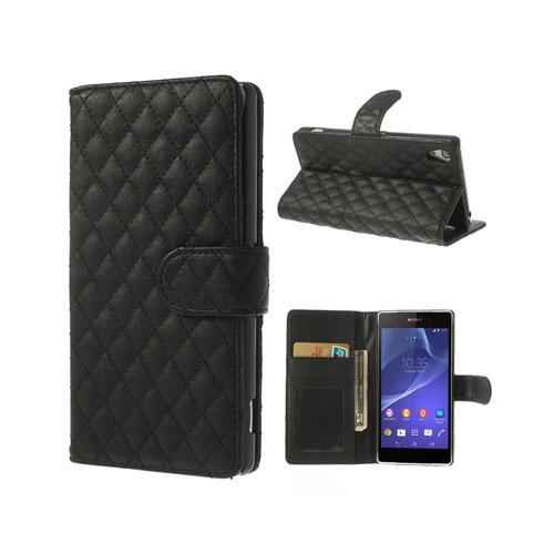 Tinkerbell (Svart) Sony Xperia Z2 Flip-Fodral