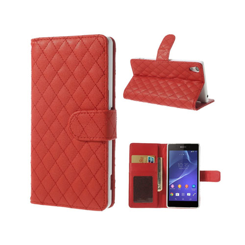 Tinkerbell (Röd) Sony Xperia Z2 Flip-Fodral