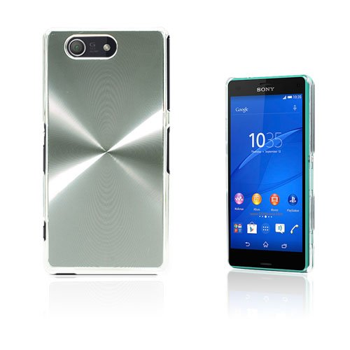 Grooves Sony Xperia Z3 Compact Skal – Silver