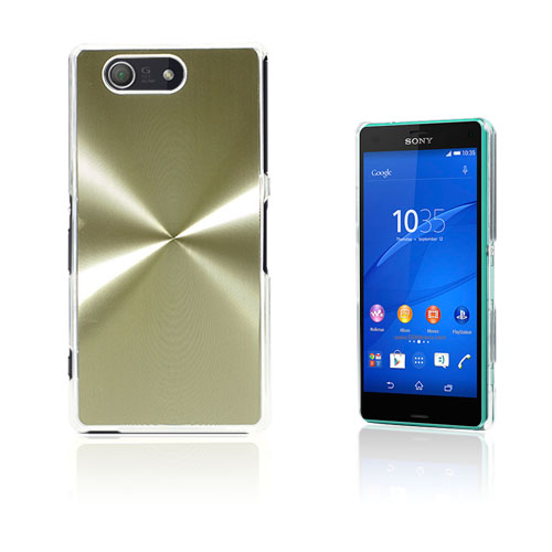 Grooves Sony Xperia Z3 Compact Skal – Champagne