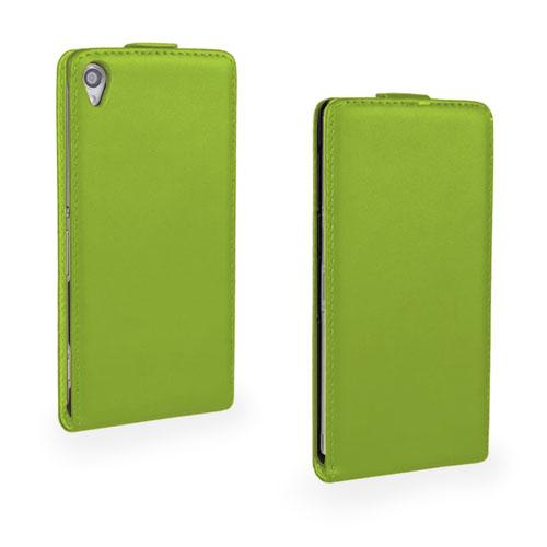 Winther (Grön) Sony Xperia Z3 Fodral (Äkta Läder)