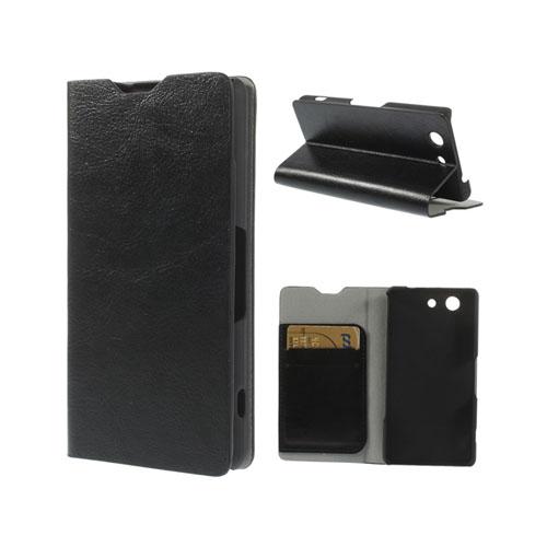 Mankell (Svart) Sony Xperia Z3 Compact Flip Fodral