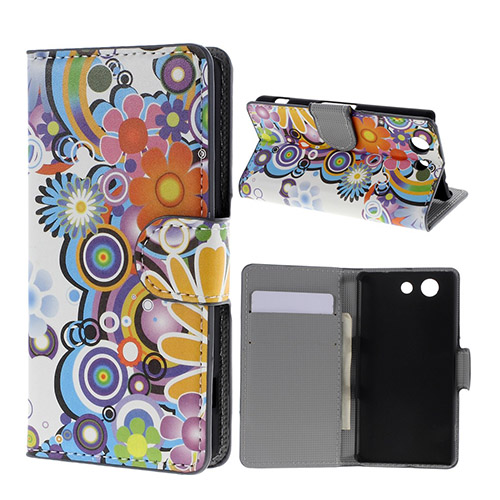 Moberg (Flower Power) Sony Xperia Z3 Compact Flip-Fodral