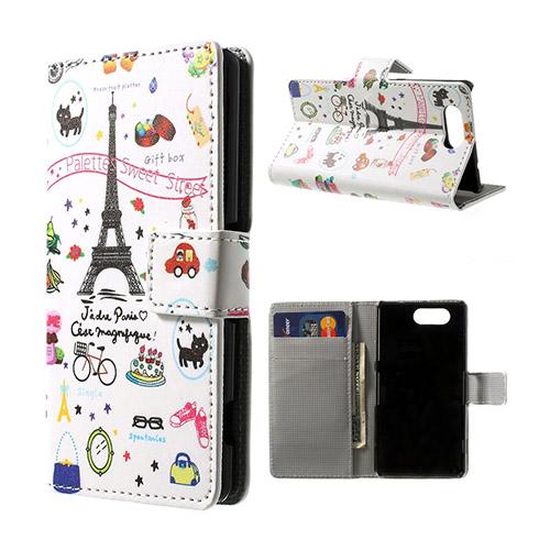 Moberg (Eiffel) Sony Xperia Z3 Compact Flip-Fodral