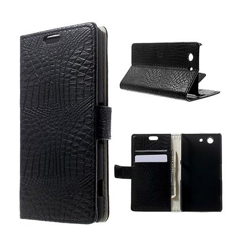 Marx Skin Sony Xperia Z3 Compact Flip Fodral – Svart