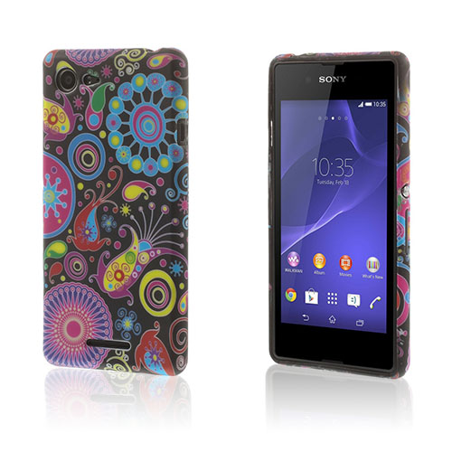 Westergaard Sony Xperia E3 Skal – Paisley Blommor