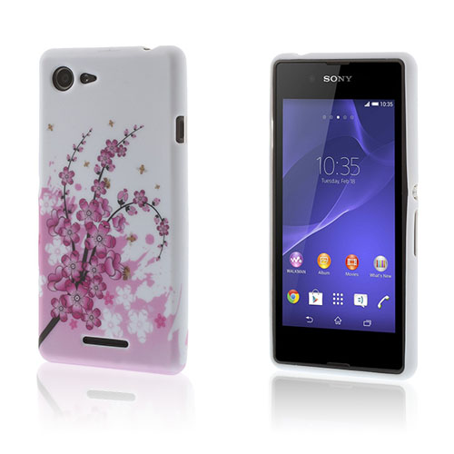 Westergaard Sony Xperia E3 Skal – Blommande Plommon