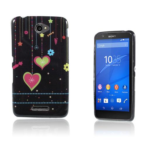 Westergaard Sony Xperia E4 Skal – Färgglada Hjärtan