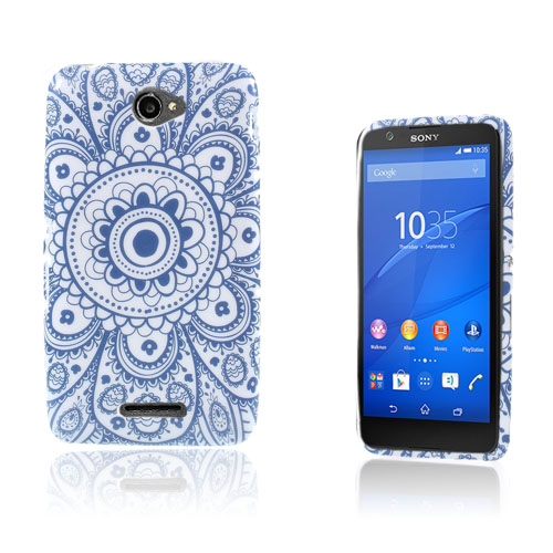 Westergaard Sony Xperia E4 Skal – Blommigt Henna Mönster