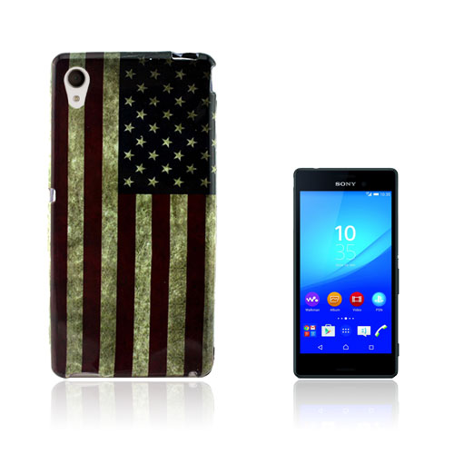 Westergaard Sony Xperia M4 Aqua Skal – USA Flagga