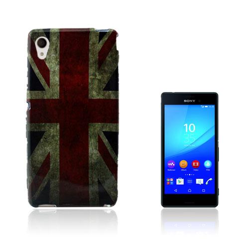 Westergaard Sony Xperia M4 Aqua Skal – UK Flagga