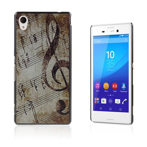 Persson Sony Xperia M4 Aqua Skal – Musik Noterar