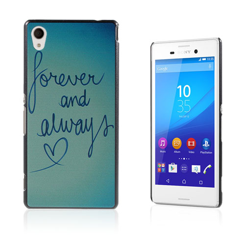 Persson Sony Xperia M4 Aqua Skal – Forever & Always Love