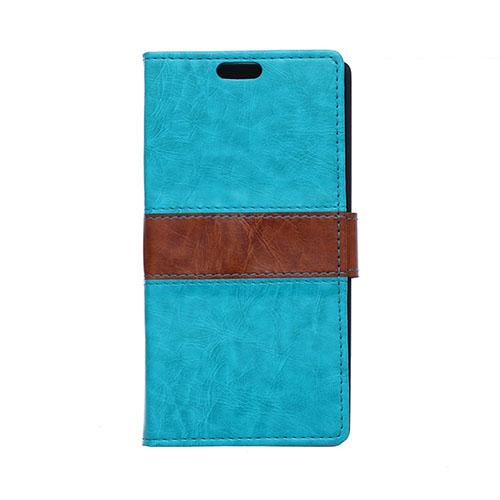 Lie Sony Xperia M4 Aqua Fodral med Plånbok – Blå
