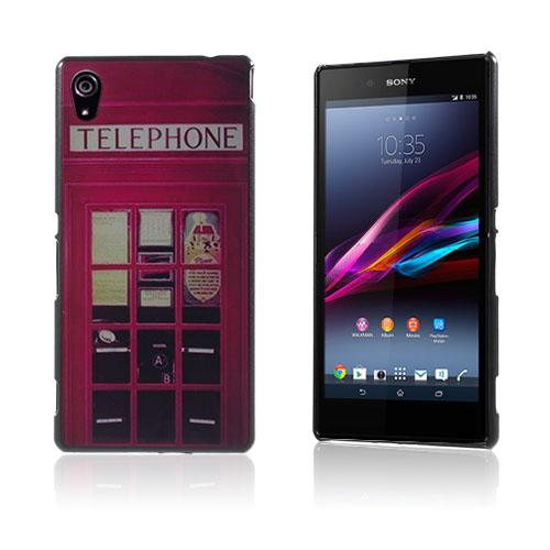 Westergaard Sony Xperia Z3+ Skal – Röd Telefon Box