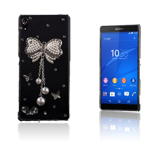Shine Sony Xperia Z3+ Hårt Skal – Diamant Fluga