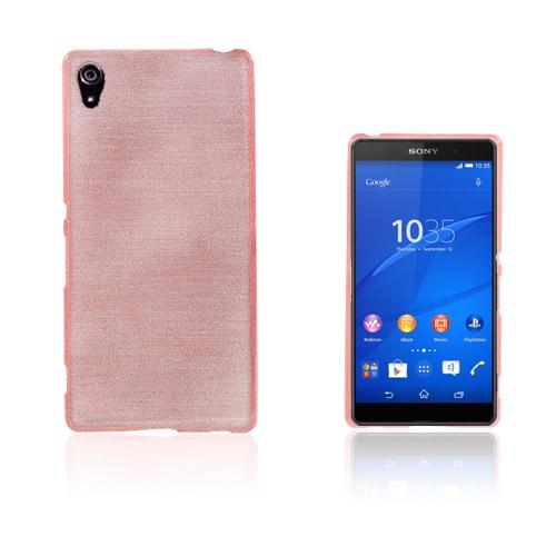 Bremer Sony Xperia Z3+ Skal – Rosa