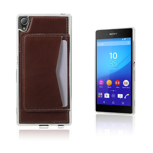 Jungstedt Sony Xperia Z3+ Skal – Brun