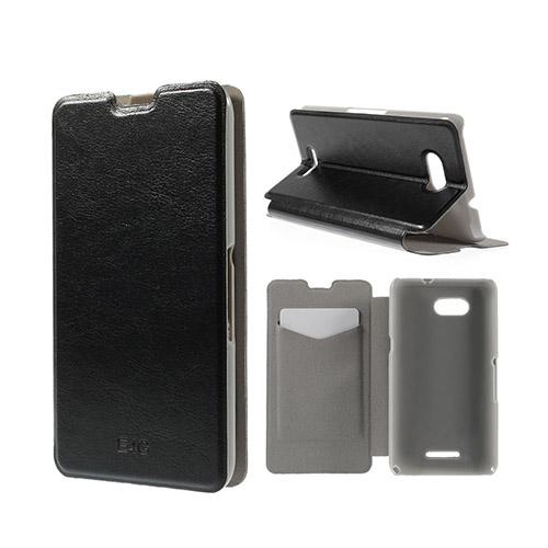 Amdrup Sony Xperia E4G med Plånbok – Svart