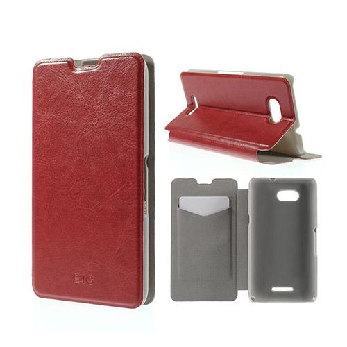 Amdrup Sony Xperia E4G med Plånbok – Röd