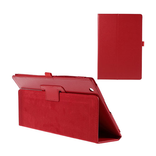 Gaarder Sony Xperia Z4 Tablet Fodral med Stativ – Röd