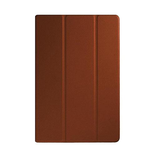 Garff Silk (Brun) Sony Xperia Z4 Tablet Leather Tri-Fold Case