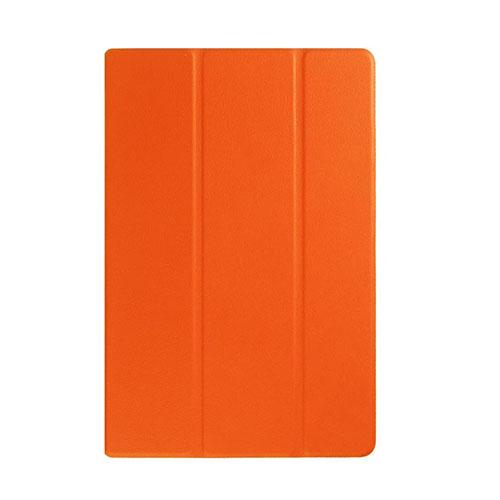 Garff Silk (Orange) Sony Xperia Z4 Tablet Leather Tri-Fold Case