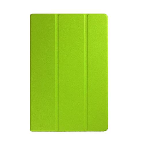 Garff Silk (Grön) Sony Xperia Z4 Tablet Leather Tri-Fold Case