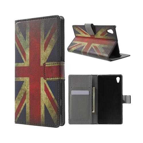 Moberg Sony Xperia Z5 Fodral – Vintage UK Flagga