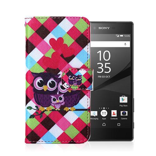 Moberg Sony Xperia Z5 Fodral – Uggla Familj