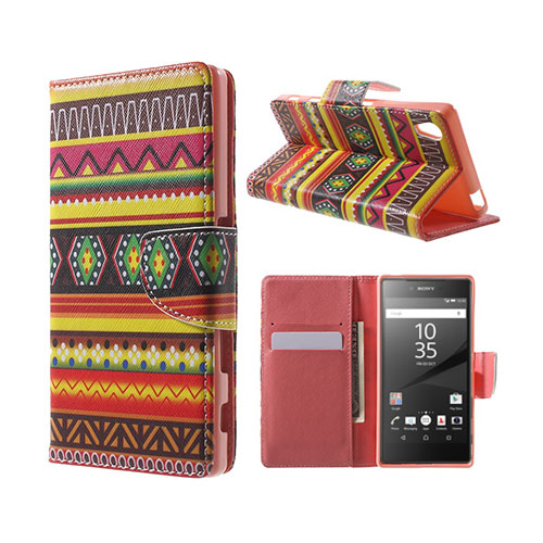 Moberg Sony Xperia Z5 Fodral – Tribal Geometriska Mönster