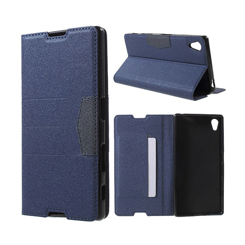 Heiberg Sony Xperia Z5 Fodral – Mörk Blå