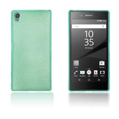 Bremer Sony Xperia Z5 Premium Skal – Cyan