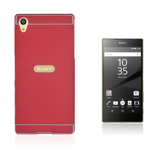 Egeland Sony Xperia Z5 Premium Skal med Stötfångare – Röd