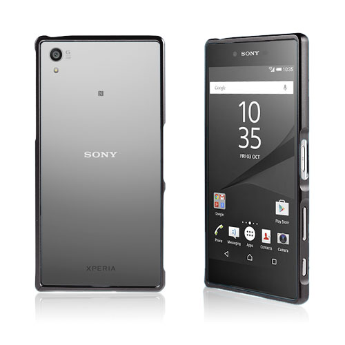 Remes Sony Xperia Z5 Premium Aluminium Stötfångare – Svart