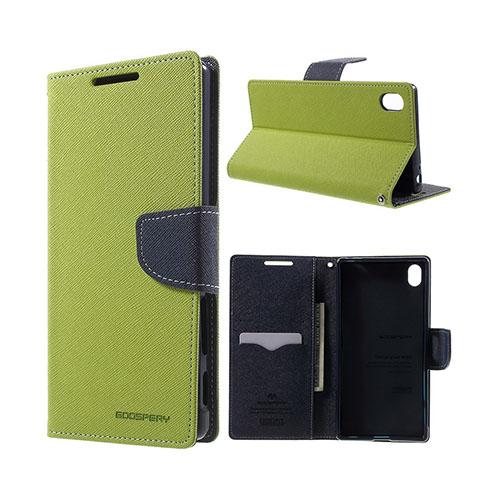 Mercury Sony Xperia Z5 Premium Läderfodral med Stativ – Grön