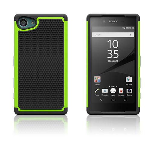 Football Grain Sony Xperia Z5 Compact Skal – Grön