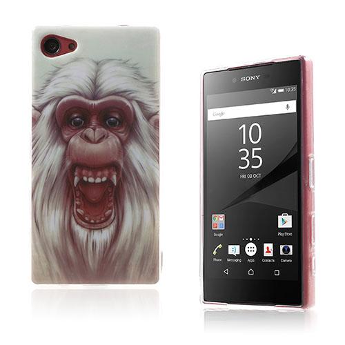 Westergaard Sony Xperia Z5 Compact Skal – Vit Gorilla