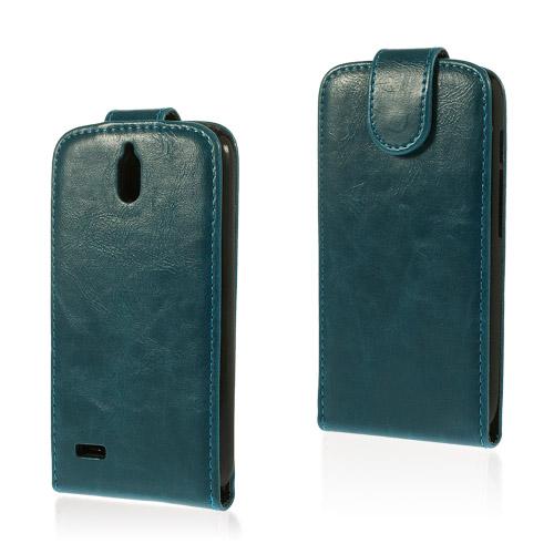 Mankell (Blå) Huawei Ascend G610 Läder Fodral