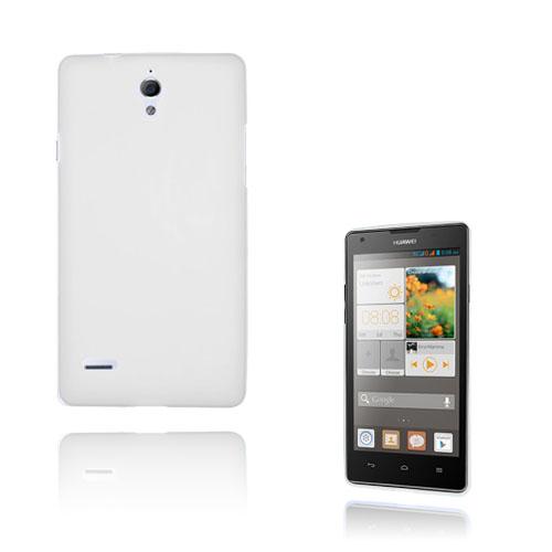 Soft Shell (Vit) Huawei Ascend G700 Skal