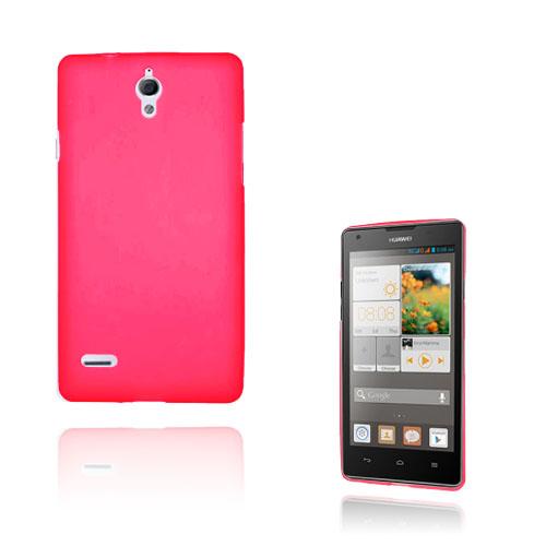 Soft Shell (Röd) Huawei Ascend G700 Skal