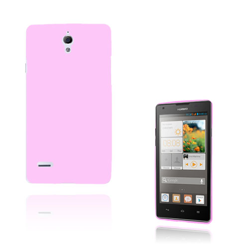 Soft Shell (Rosa) Huawei Ascend G700 Skal