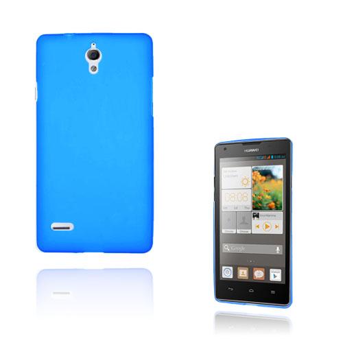 Soft Shell (Blå) Huawei Ascend G700 Skal